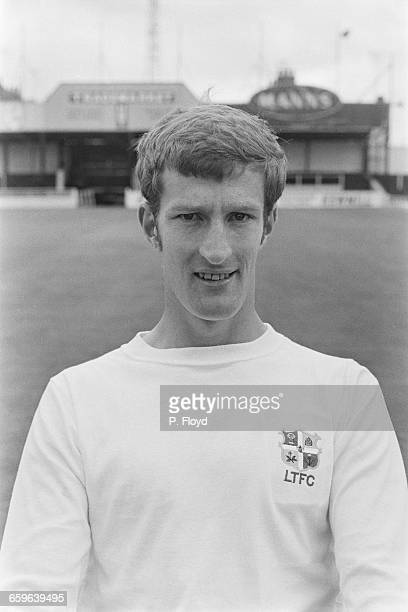 Footballer John Moore of Luton Town FC UK 3rd August 1971