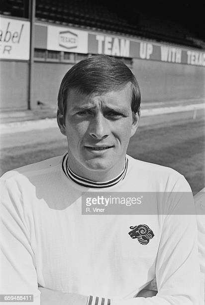 Footballer John O'Hare of Derby County FC UK 2nd August 1971