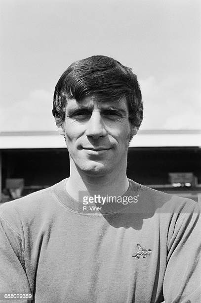 Footballer John Osborne the goalkeeper for West Bromwich Albion FC UK 20th July 1971