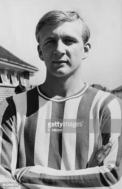 Footballer John South of Brentford FC 18th August 1966