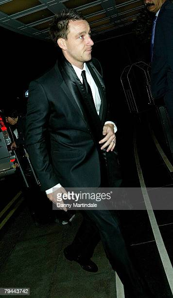 Footballer John Terry at the Cystic Fibrosis Liv Charity Event at The Dorchester Hotel on January 31 2008 in London England