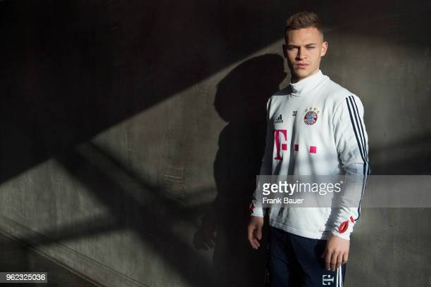 Footballer Joshua Kimmich is photographed for the Guardian on February 25 2018 in Munich Germany