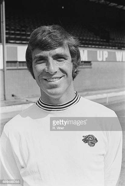 Footballer Kevin Hector of Derby County FC UK 2nd August 1971