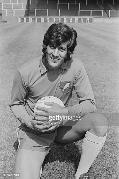 Footballer Kevin Keelan of Norwich City FC UK 24th August 1971