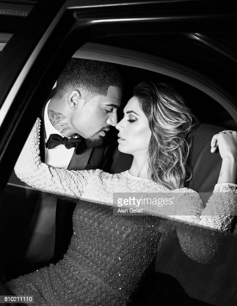 Footballer KevinPrince Boateng tv presenter Melissa Satta are photographed for Vanity Fair on January 15 2016 in Milan Italy