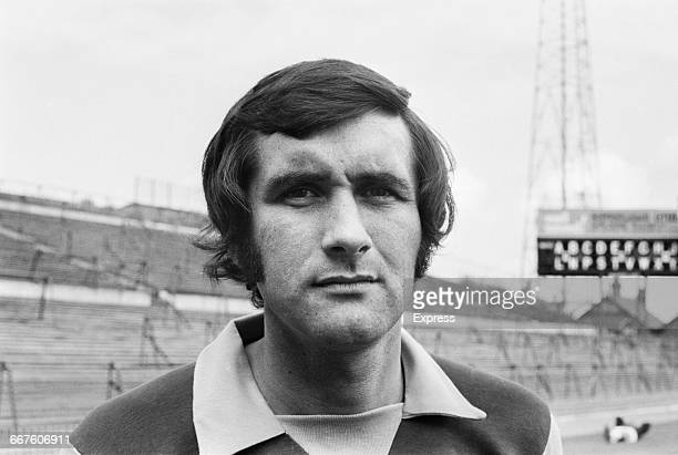 Footballer Lew Chatterley of Aston Villa FC UK 23rd August 1971
