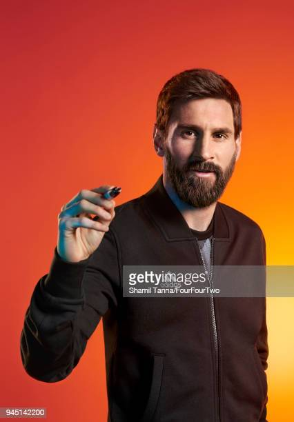 Footballer Lionel Messi is photographed for Four Four Two magazine on April 27 2017 in London England