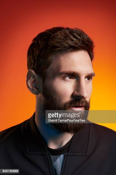 Footballer Lionel Messi is photographed for Four Four Two magazine on April 27, 2017 in London, England.