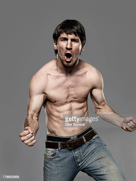 Footballer Lionel Messi is photographed on June 29 2009 in Barcelona Spain