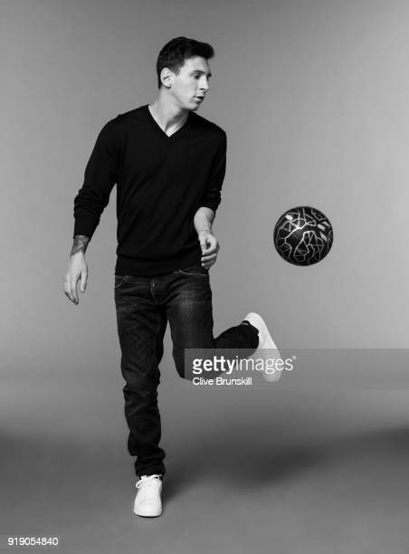 Footballer Lionel Messi is photographed on September 15 2015 in Barcelona Spain