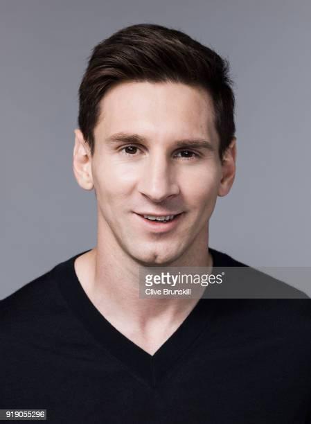 Footballer Lionel Messi is photographed on September 15 2015 in Barcelona Spain