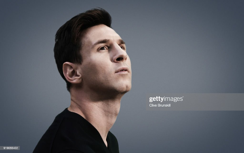 Footballer Lionel Messi is photographed on September 15, 2015 in Barcelona, Spain.