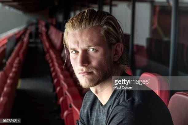 Footballer Loris Karius is photographed for the Telegraph on May 21 2018 in Liverpool England