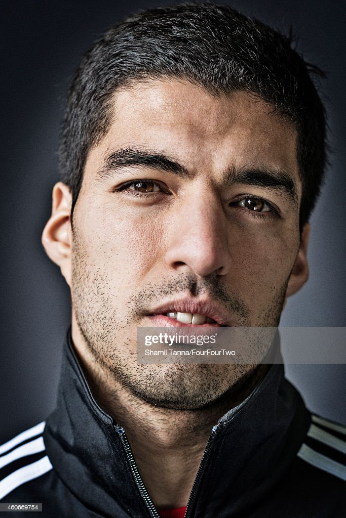 Luis Suarez, FourFourTwo magazine UK, April 1, 2014