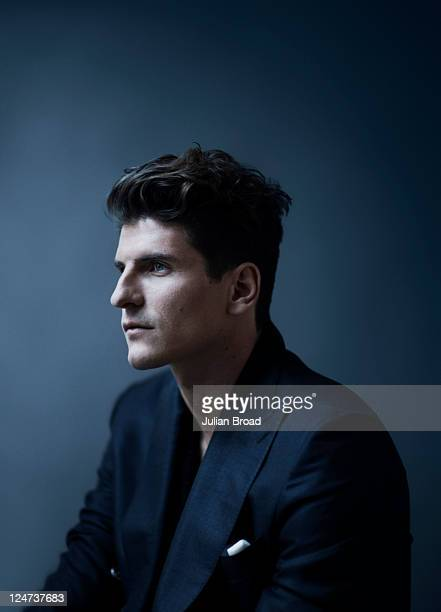 Footballer Mario Gomez is photographed for GQ magazine on March 7 2011 in Munich Germany