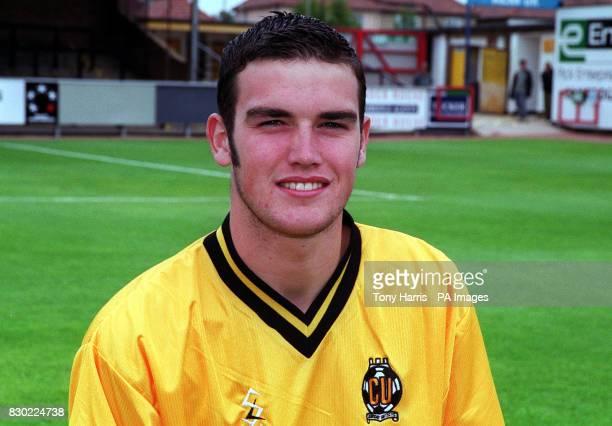 Footballer Martin McNeil of Cambridge United FC at The Abbey Stadium.