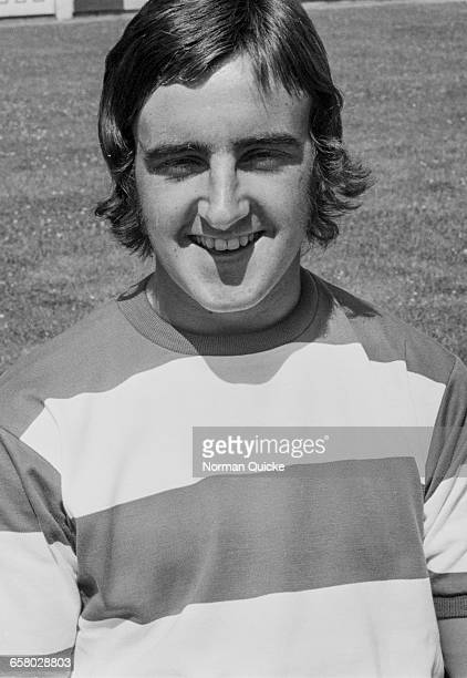 Footballer Martyn Busby of Queens Park Rangers FC UK 15th July 1971