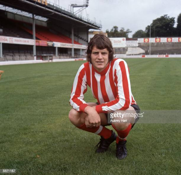 Footballer Mick Channon of Southampton FC