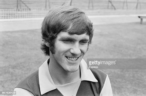 Footballer Mick Wright of Aston Villa FC UK 23rd August 1971