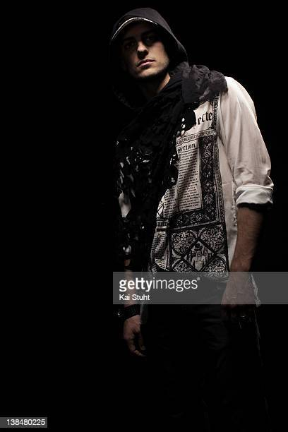 Footballer Mladen Petric is photographed on April 6 2008 in Munich Germany