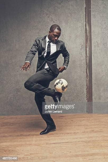 Footballer Moussa Sissoko is photographed for Self Assignment on January 4 2015 in Paris France