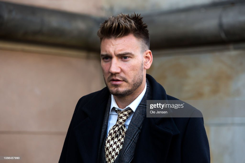 Court Rules In Footballer Nicklas Bendtners Violence Case : News Photo