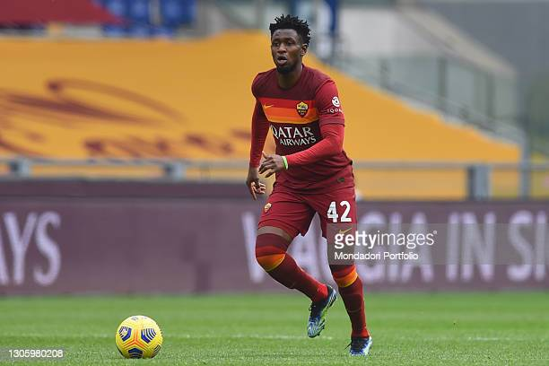 Footballer of Roma Amadou Diawara during the match Rome-Genoa at the stadio Olimpico. Rome , March 07th, 2021