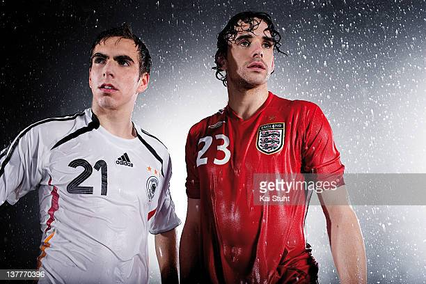 Footballer Owen Hargreaves is photographed on March 14 2006 in Munich Germany