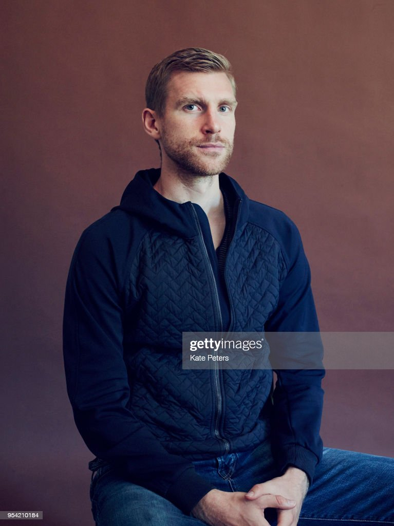 Footballer Per Mertesacker is photographed for Der Spiegel on August 4, 2017 in London, England.
