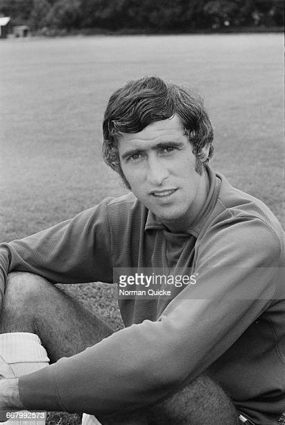 Footballer Peter Bonetti of Chelsea FC UK 11th August 1971