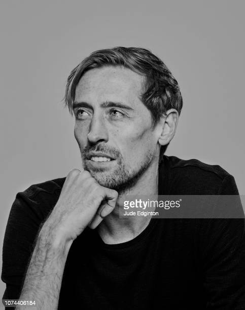 Footballer Peter Crouch is photographed on February 1 2018 in Stoke England