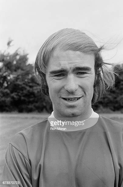 Footballer Peter Noble of Swindon Town FC UK August 1971