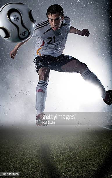 Footballer Philipp Lahm is photographed on March 14, 2006 in Munich, Germany.