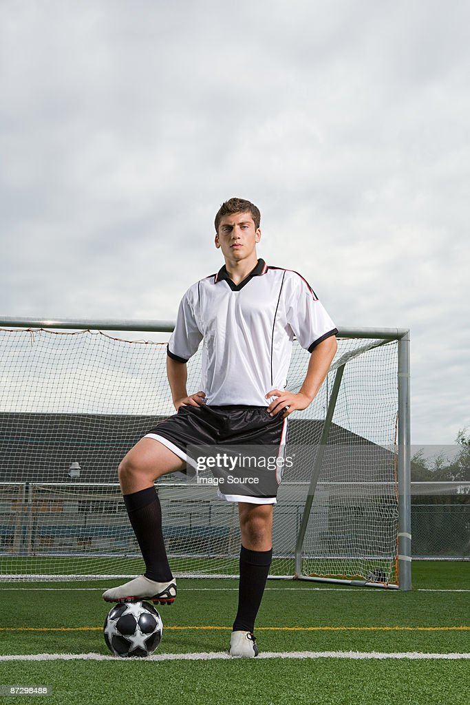 Footballer : Stock Photo