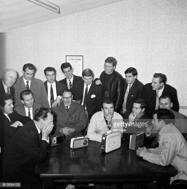 Footballer players of non league Gravesend and Northfleet listen to the draw for the FA Cup third round They were drawn away at Carlisle United 26th...