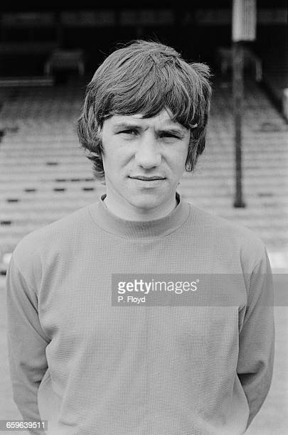 Footballer Ray Treacy of Charlton Athletic FC UK 3rd August 1971