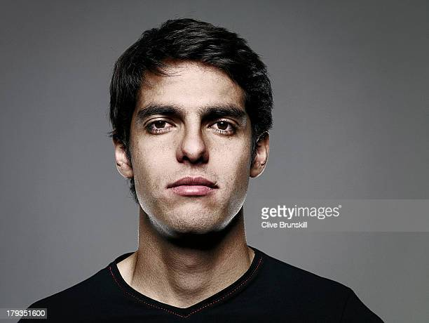 Footballer Ricardo Kaka is photographed on June 29 2009 in Madrid Spain
