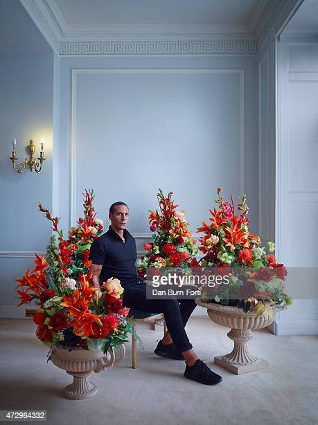 Footballer Rio Ferdinand is photographed for Esquire on August 21 2014 in London England