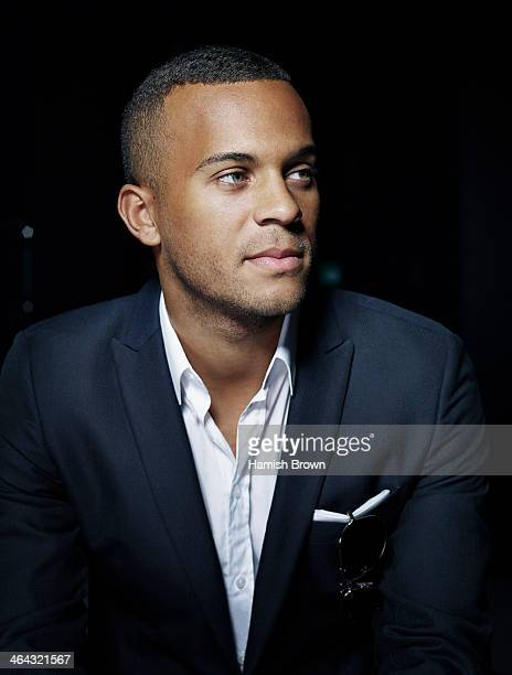 Footballer Ryan Bertrand is photographed for Men's Health on October 25 2012 in London England