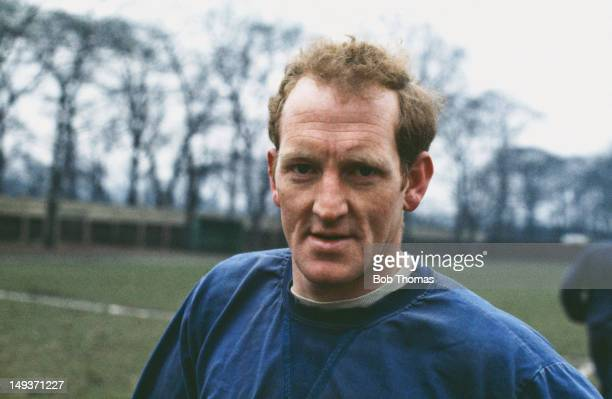 Footballer Sandy Brown of Everton FC 1968