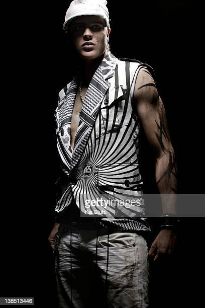 Footballer Sebastian Prodl is photographed on April 6, 2008 in Munich, Germany.