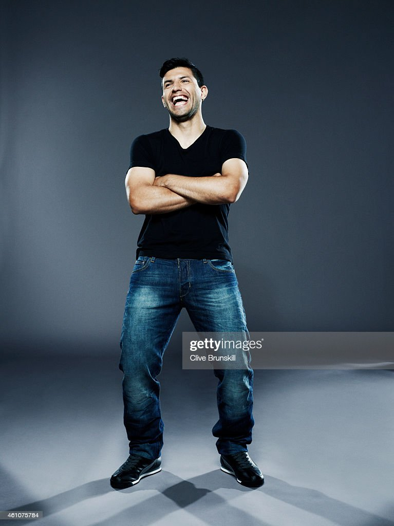 Footballer Sergio Aguero is photographed on August 13, 2013 in London, England.