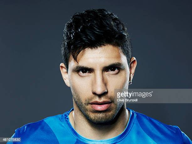 Footballer Sergio Aguero Is Photographed On August 13 2013 In London England