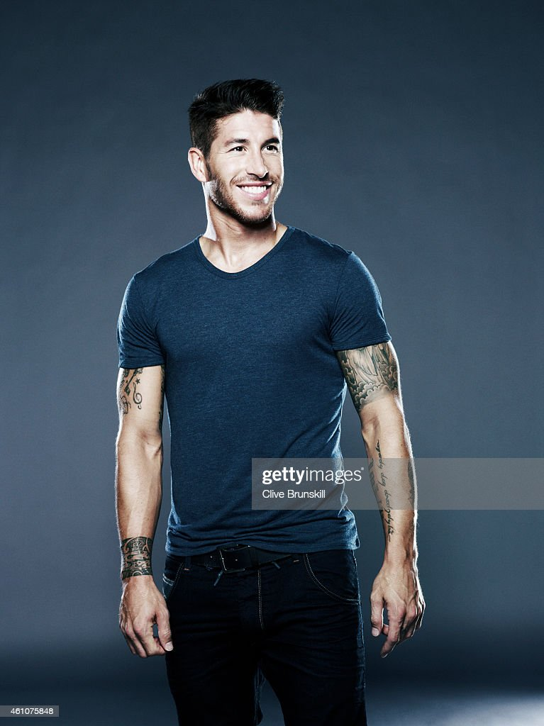 Footballer Sergio Ramos is photographed on August 23, 2013 in London, England.