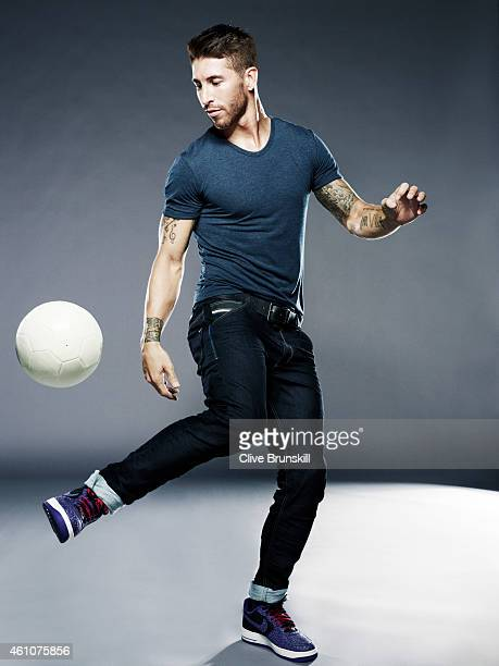 Footballer Sergio Ramos is photographed on August 23 2013 in London England