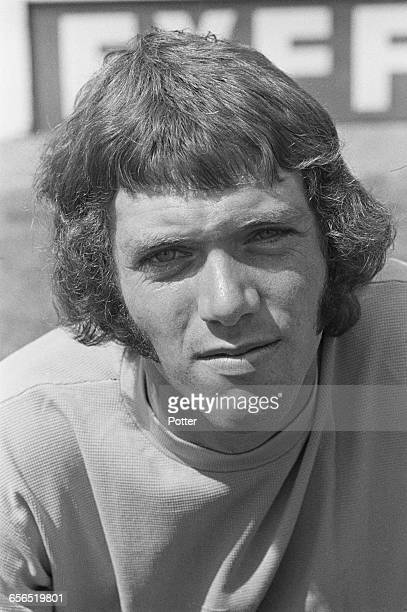Footballer Steve Aylott of Oxford United FC UK 22nd July 1971