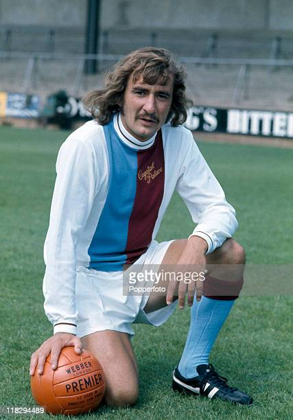 Footballer Steve Kember of Crystal Palace circa July 1971