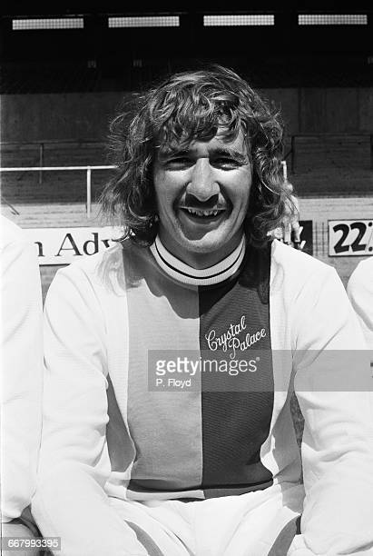 Footballer Steve Kember of Crystal Palace FC UK 25th August 1971