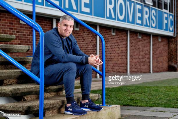 Footballer Steven McNulty is photographed for the Telegraph on December 27 2018 in Tranmere England