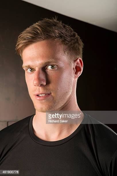 Footballer Tomas Kalas is photographed for the Observer on May 11 2014 in London England